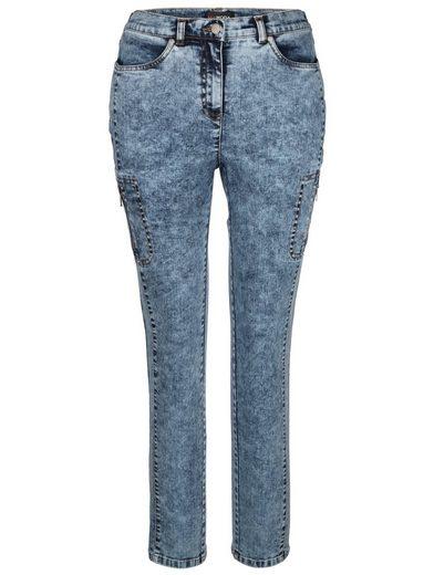 MIAMODA Jeans mit angesagter Waschung