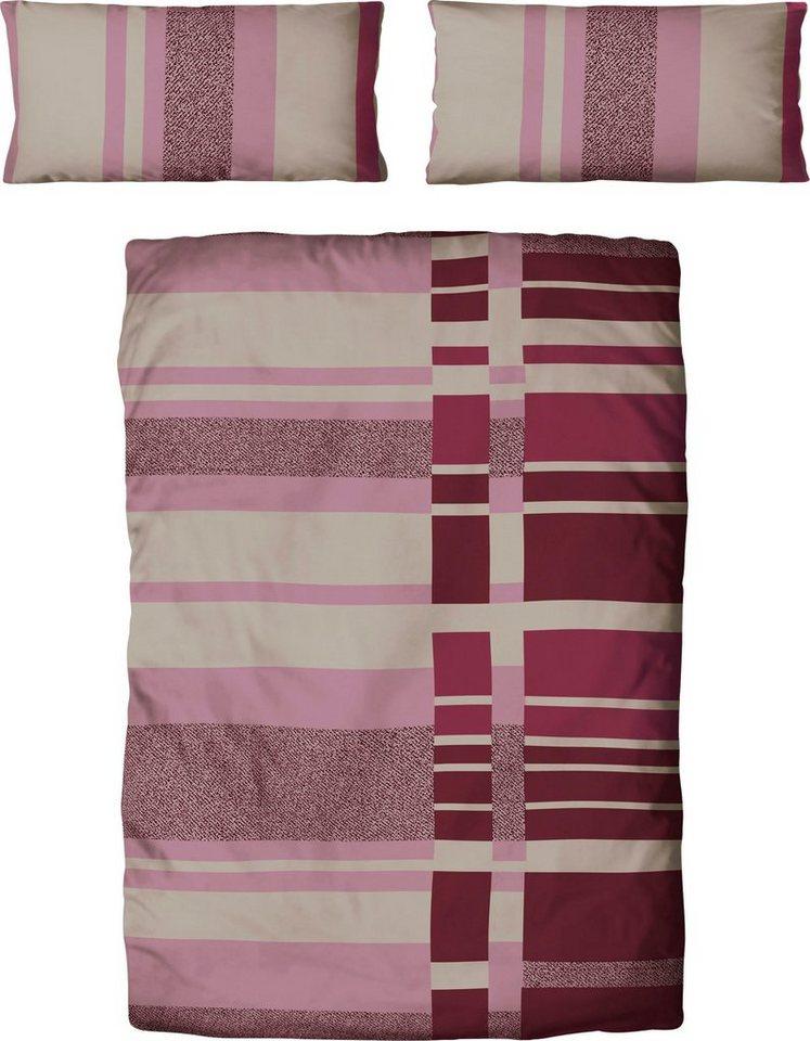 bettw sche thea my home mit modernem karomuster online kaufen otto. Black Bedroom Furniture Sets. Home Design Ideas