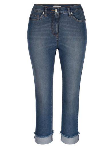 MIAMODA Jeans aus hoch elastischem Powerstretch-Material
