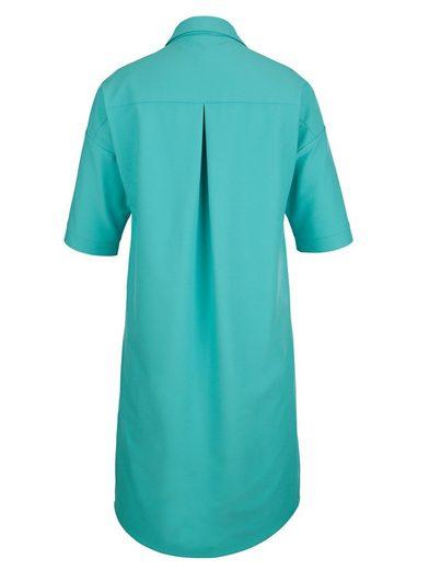 MIAMODA Kleid mit effektvollen Nähten im Vorderteil