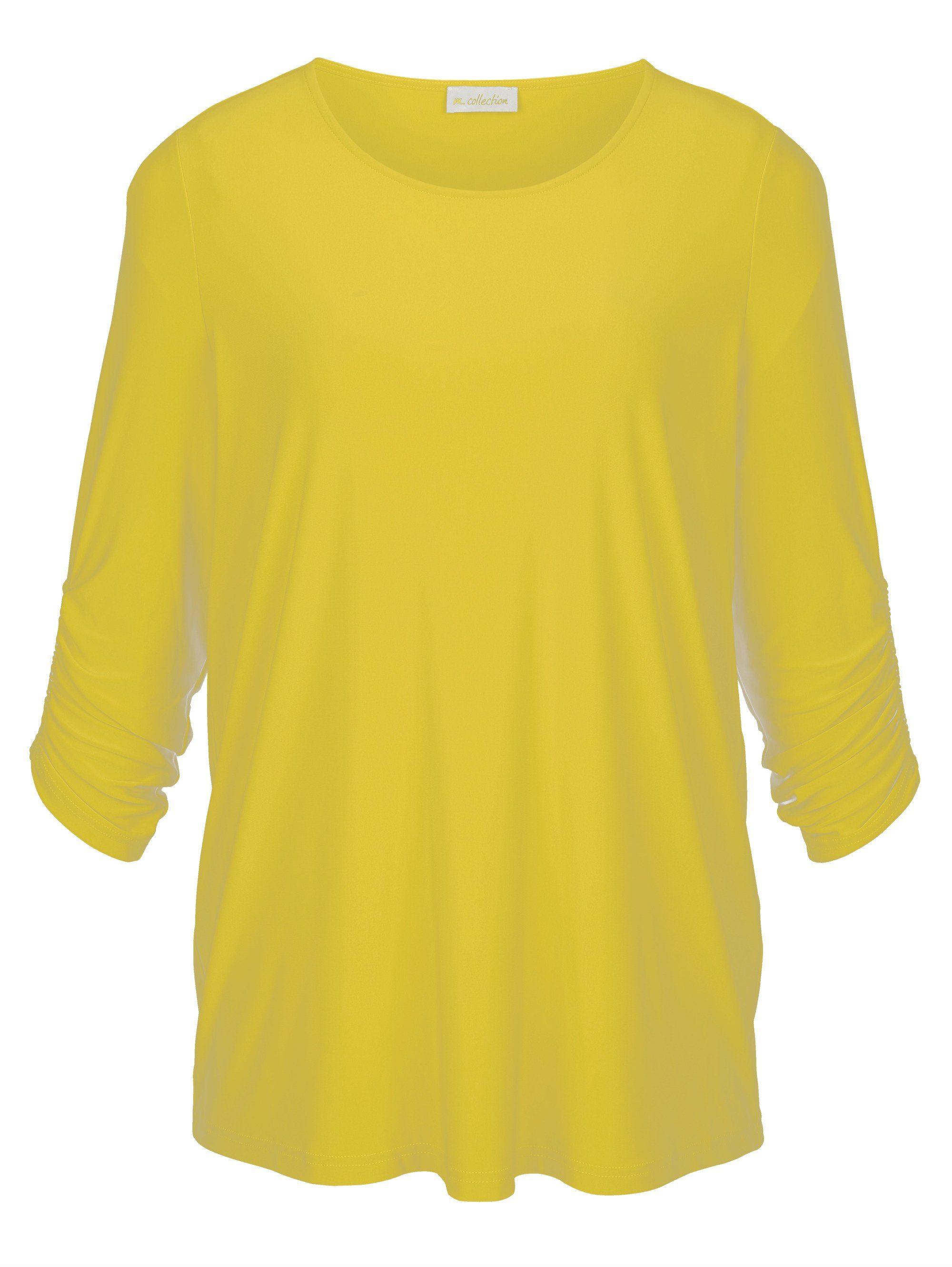 m. collection Shirt in weich fließender Qualität