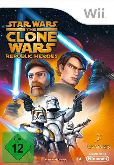 Star Wars: The Clone Wars - Republic Heroes Nintendo Wii, Software Pyramide