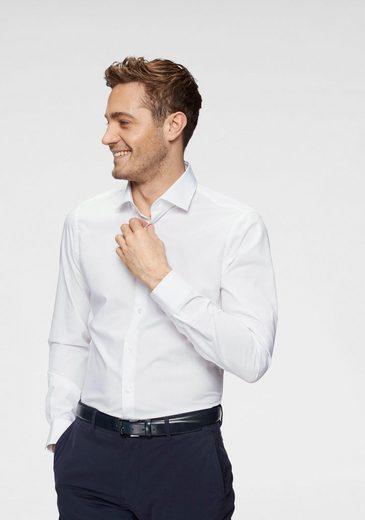 Strellson Businesshemd »Santos« Abgesteppte Nähte, Slim Fit