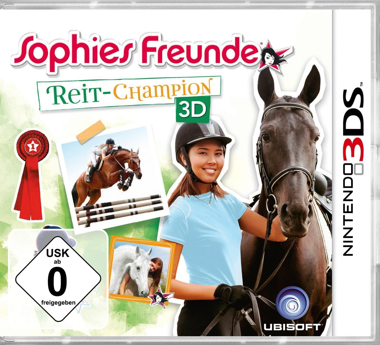 Sophies Freunde: Reit- Champion 3D Nintendo 3DS, Software Pyramide