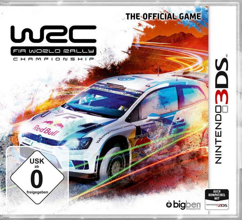 WRC FIA World Rally Championship Nintendo 3DS, Software Pyramide