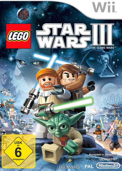 LEGO Star Wars III: The Clone Wars Nintendo Wii, Software Pyramide