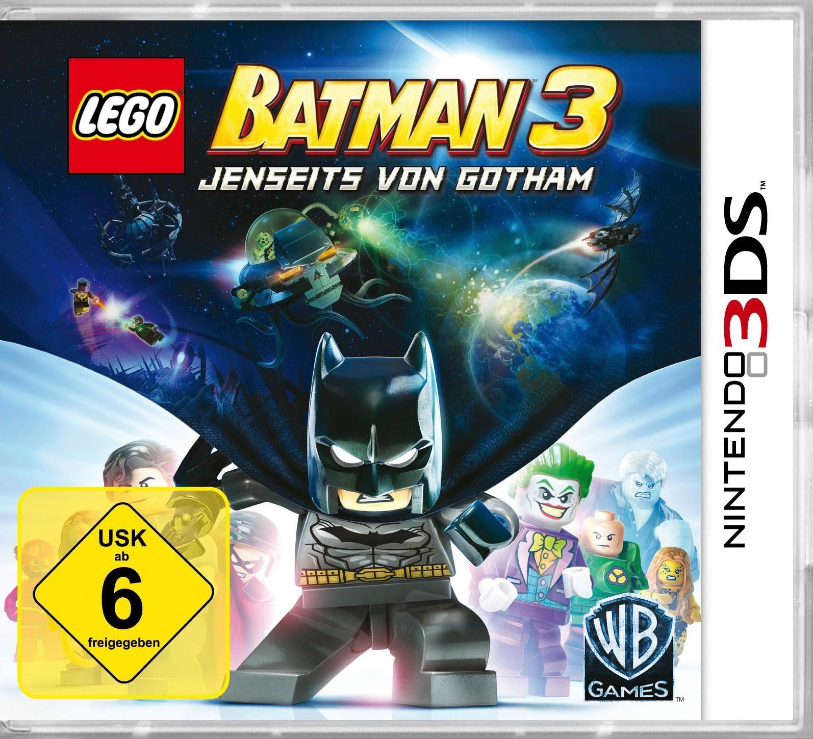 Lego Batman 3 - Jenseits von Gotham Nintendo 3DS, Software Pyramide