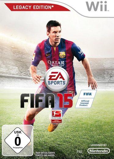 FIFA 15 Legacy Edition Nintendo Wii, Software Pyramide