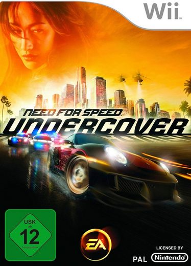 Need for Speed - Undercover Nintendo Wii, Software Pyramide