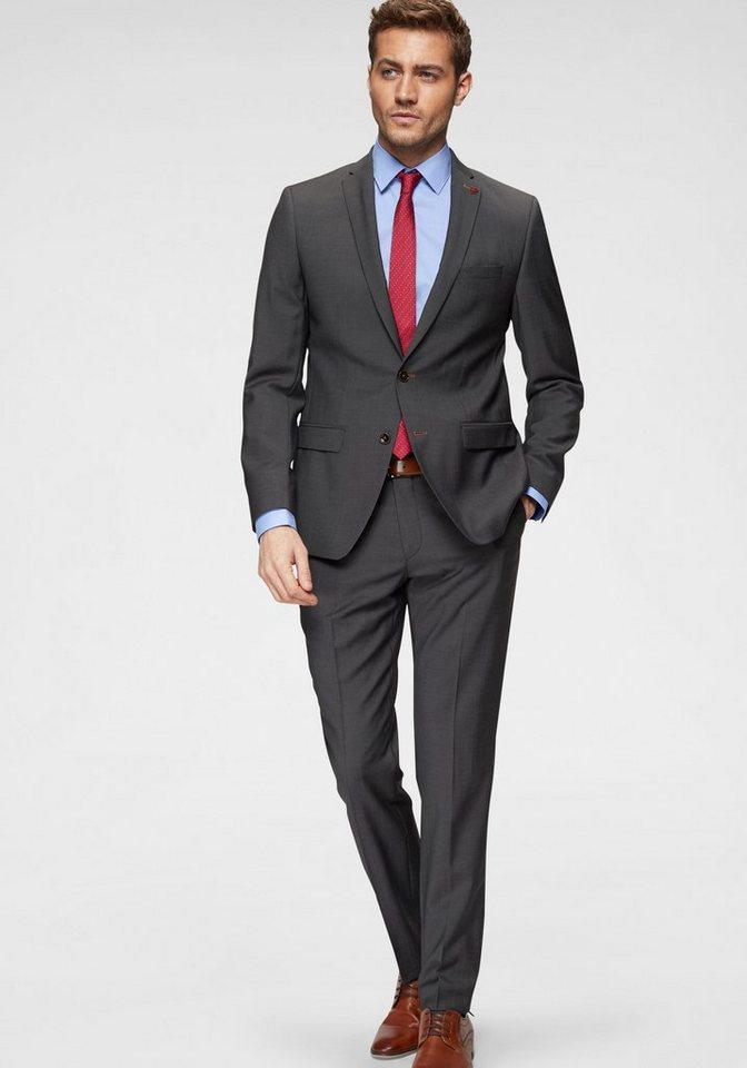 228d1d1450e0 Roy Robson Anzug »Slim fit« Slim Fit- Form, mit sehr feinem ...