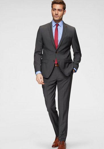 Roy Robson Anzug »Slim fit« (2-tlg) Slim Fit- Form, mit sehr feinem Strukturmuster