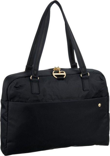Damen Pacsafe Aktentasche Citysafe CX Slim Briefcase schwarz | 00688334051693