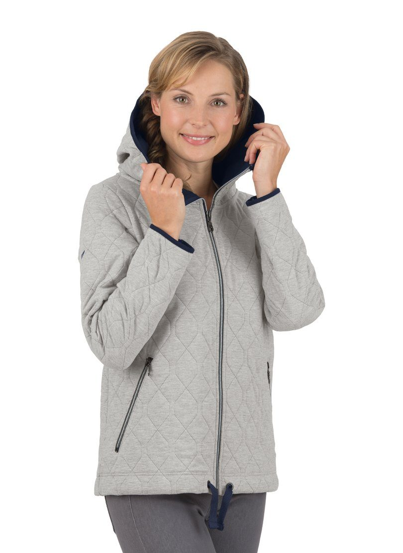 Trigema Steppjacke mit Kapuze aus Sweat Qualität | OTTO