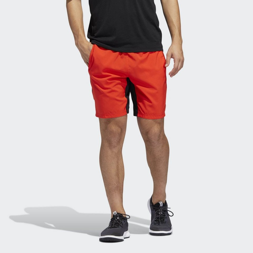 732d3256cf02 adidas Performance Shorts »4KRFT Tech Woven 3-Streifen Shorts ...