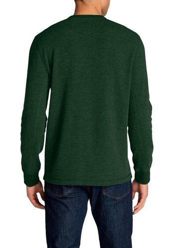- Herren Eddie Bauer Langarmshirt Waffelshirt – Elk Forest grün   04057682376349