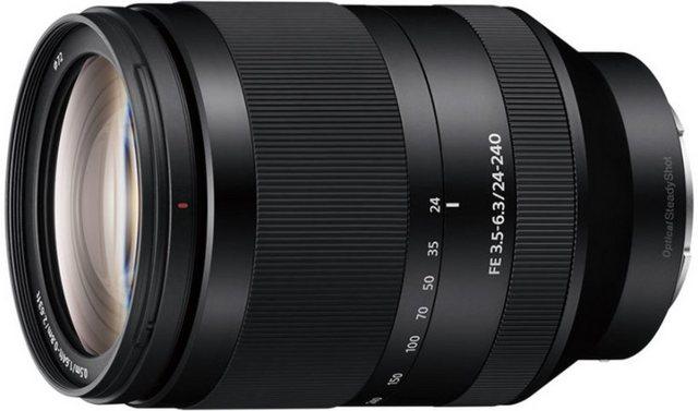 Objektive - Sony Objektiv »E Mount Objektiv 24 240 mm, F3.5, SEL24240«  - Onlineshop OTTO