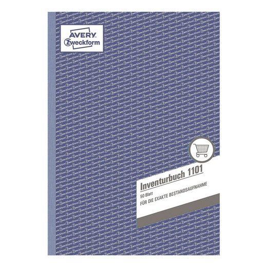 ZWECKFORMAVERY Formularbuch »Inventurbuch«