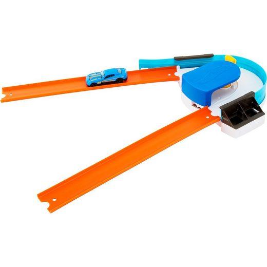 Mattel® Hot Wheels Track Builder Basis-Set Verstellbarer Kurven-Kick