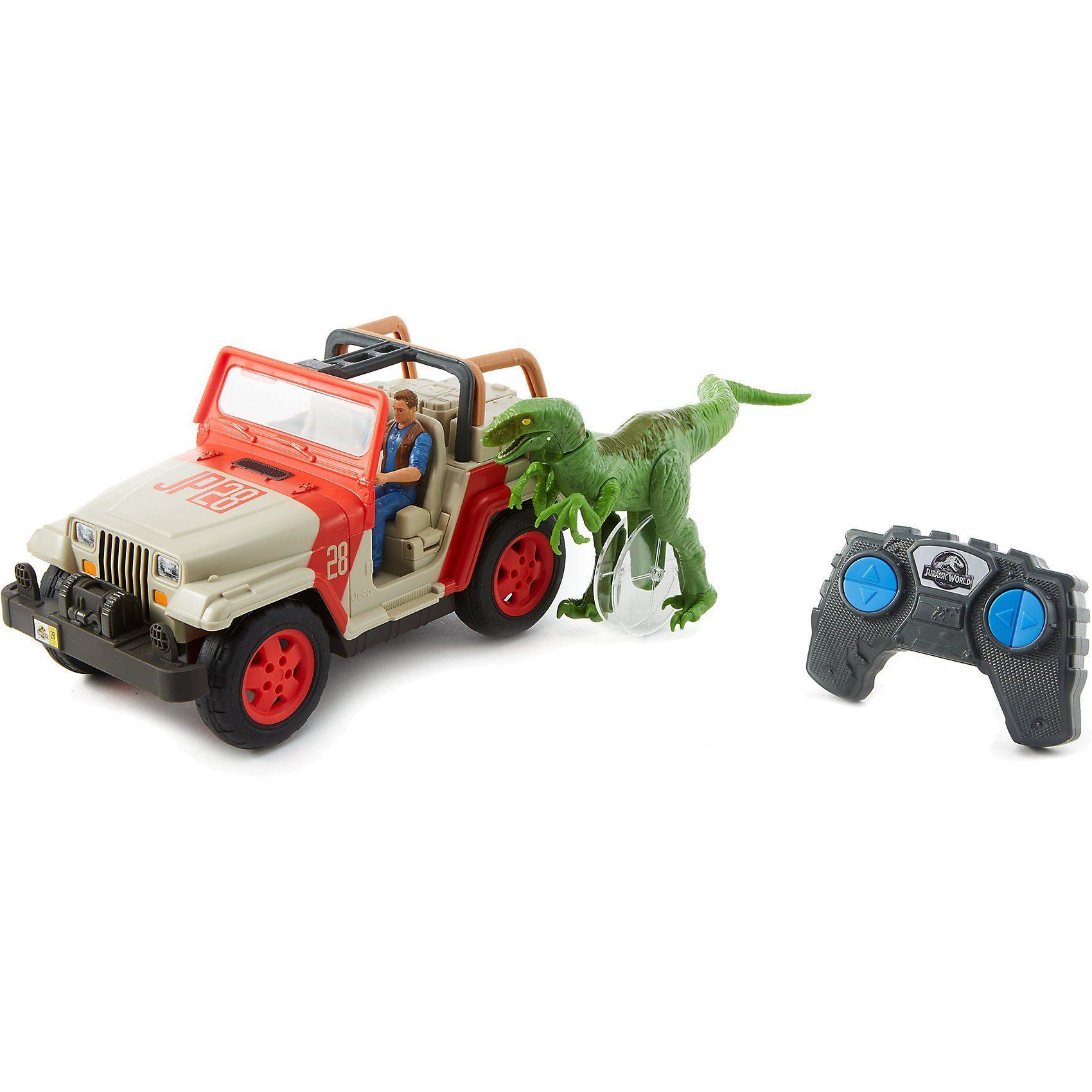 Mattel® Matchbox Jurassic World Jeep Wrangler Raptor Attack RC