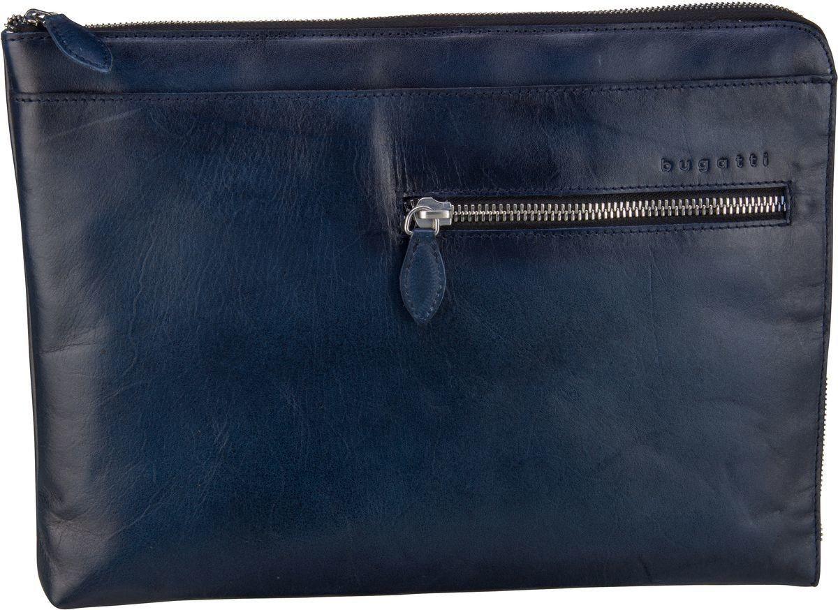 Damen Bugatti Aktenmappe Domus File Over blau | 04250060351413