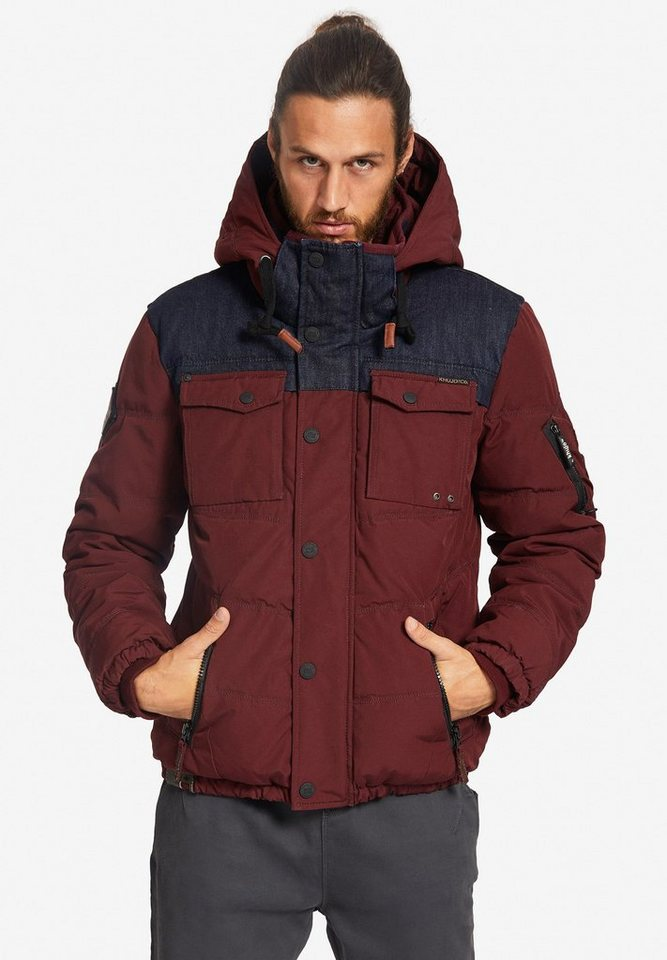 khujo -  Steppjacke »SHONE WITH RIB COLLAR« mit warmer Wattierung