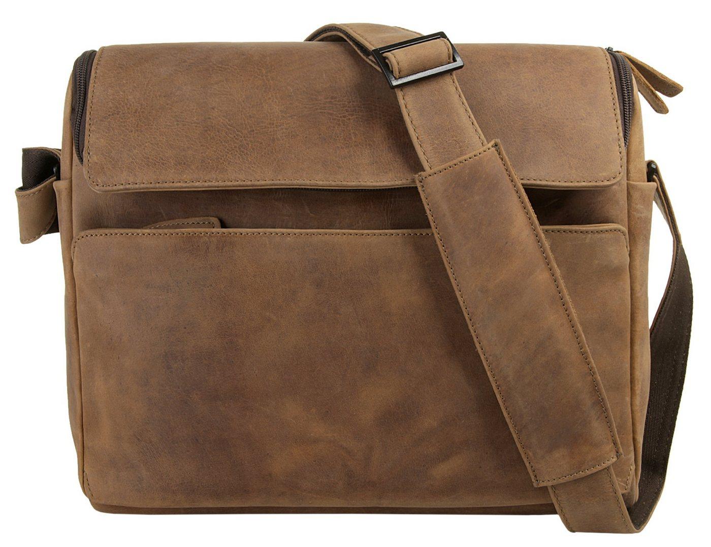 Harold´s Laptoptasche »2IN1«, vegetabil gegerbt | Taschen > Business Taschen | Braun | Harold´s