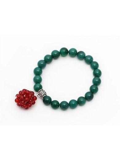 Adelia´s Armband »Armband mit Achat Karneol Länge ca.19 cm« Weihnachtsschmuck