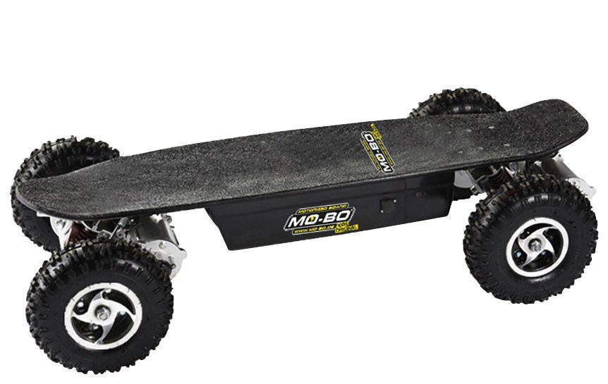 Elektroskateboard »Black Line«, 2600 W, 40 km/h, Allradantrieb