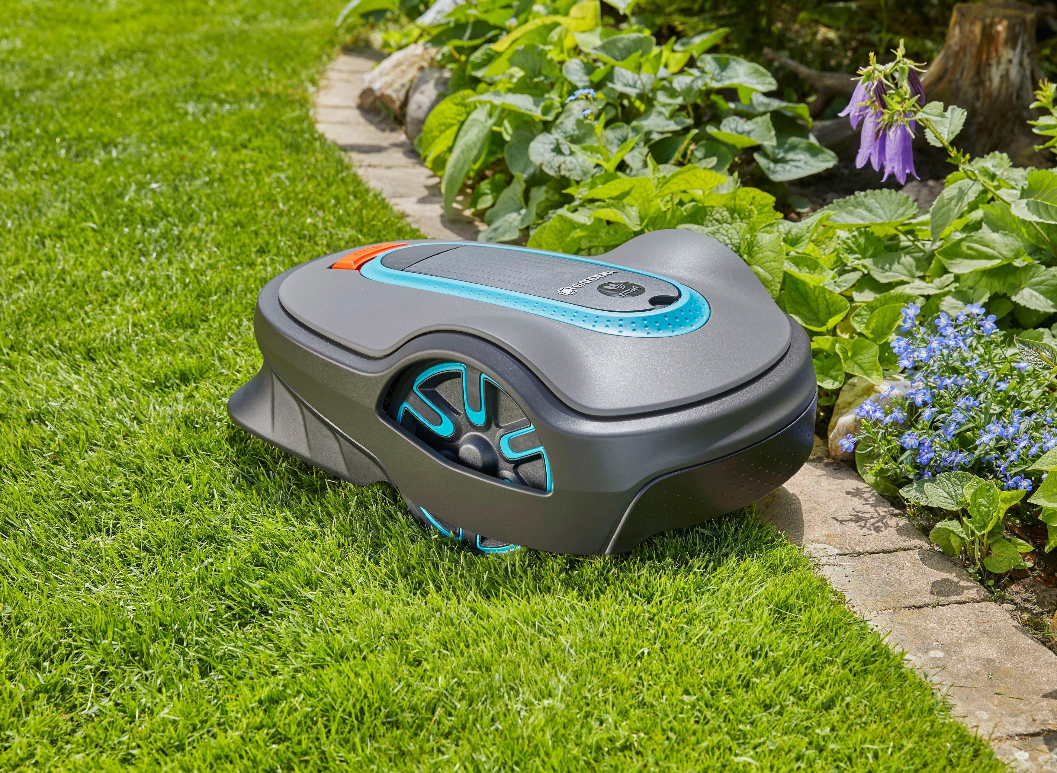 GARDENA Rasenmähroboter »smart SILENO life, mit smart Gateway«, 22 cm Schnittbreite, bis 750 m² Rasenfläche
