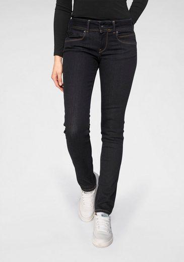 Pepe Jeans Slim-fit-Jeans »NEW BROOKE« mit 1-Knopf Bund und Reißverschlusstasche
