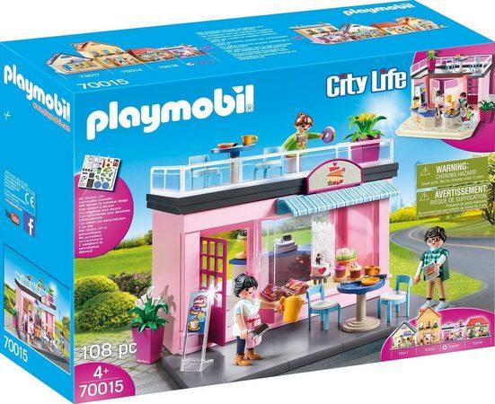 Playmobil® Konstruktions-Spielset »Mein Lieblingscafé (70015), City Life«