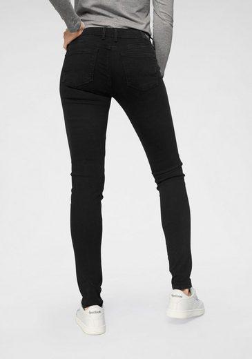 Pepe Jeans Skinny-fit-Jeans »SOHO« im 5-Pocket-Stil mit 1-Knopf Bund und Stretch-Anteil