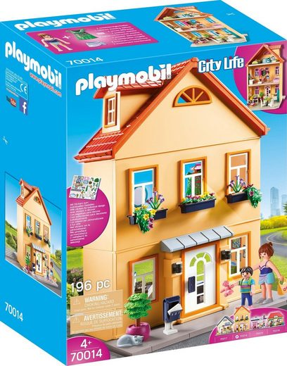 Playmobil® Konstruktions-Spielset »Mein Stadthaus (70014), City Life«, Made in Germany