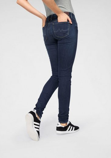 Pepe Jeans Skinny-fit-Jeans »SOHO« mit Stickerei auf Backpocket