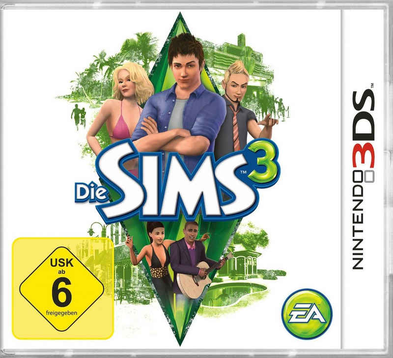 Die Sims 3 Nintendo 3DS, Software Pyramide