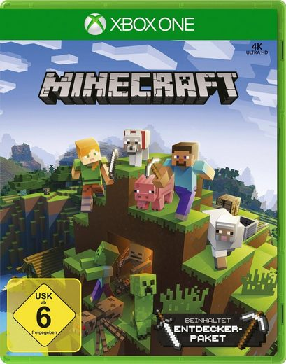 Minecraft Xbox One Edition inkl. Explorers Pack Xbox One, Software Pyramide