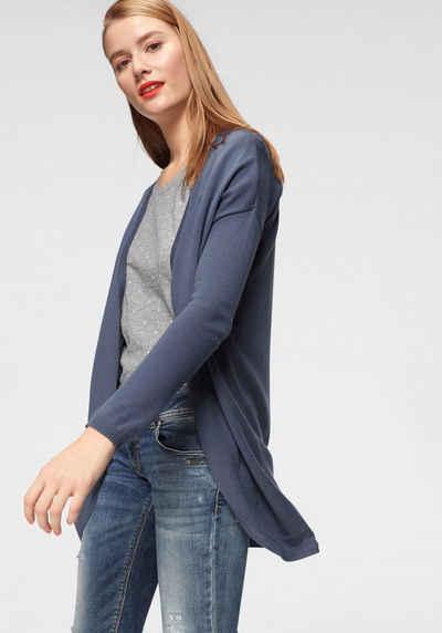 Strickjacke in blau online kaufen   OTTO ca1c826e89