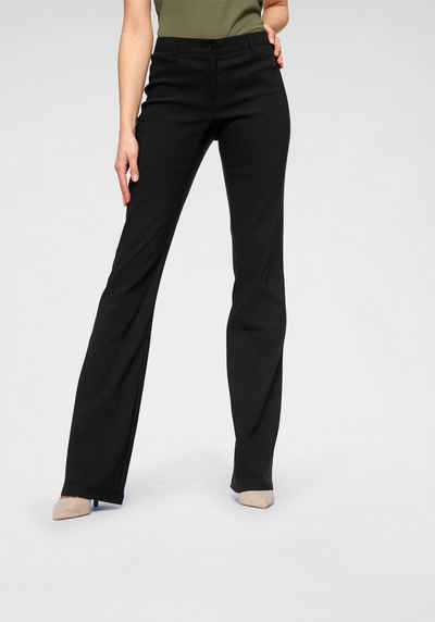 Niedrige Taille Cord Bootcut Hose