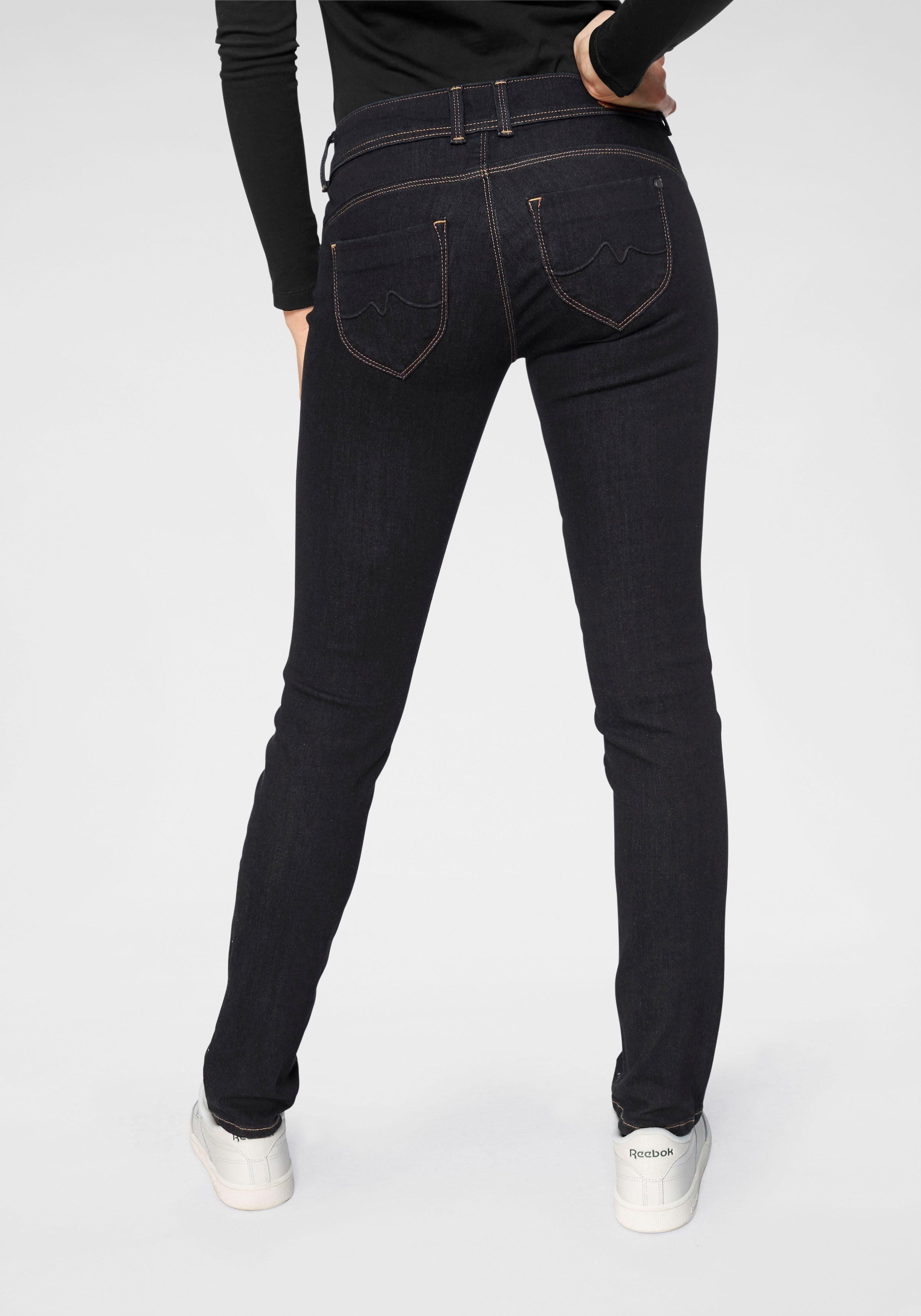 Fit Jeans »new Slim Brooke« Pepe Tasche Reißverschluss Mit wB81qEE