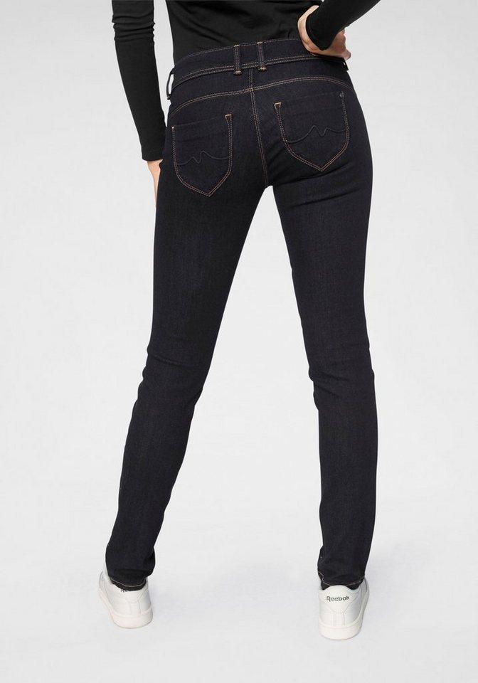 7cc31934fd87d8 Pepe Jeans Slim-fit-Jeans »NEW BROOKE« mit Reißverschluss-Tasche ...