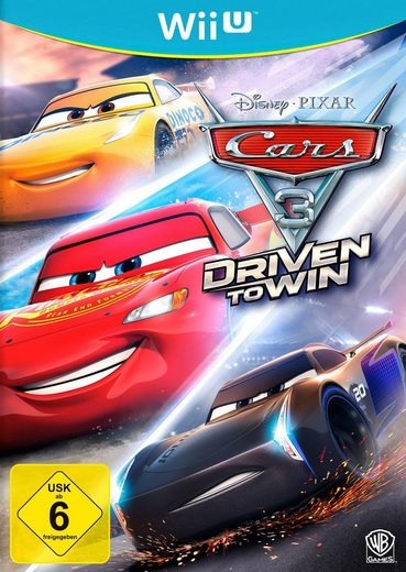 Cars 3: Driven to Win Nintendo Wii U, Software Pyramide