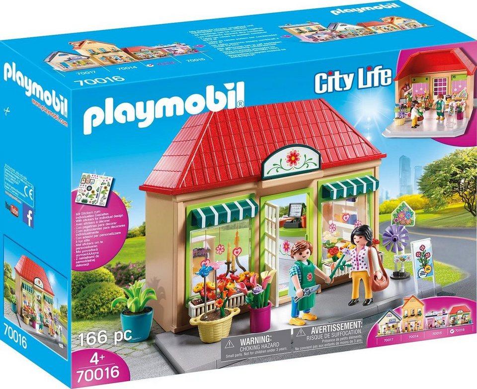 Playmobil® Mein Blumenladen (70016),  City Life