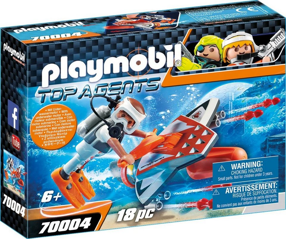 Playmobil® Spy Team Underwater Wing (70004),  Top Agents  online kaufen