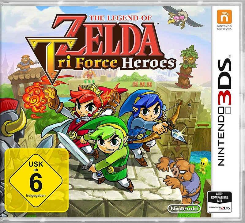The Legend of Zelda: Tri Force Heroes Nintendo 3DS, Software Pyramide