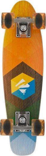 Choke Skateboard »Woody Hexagon«