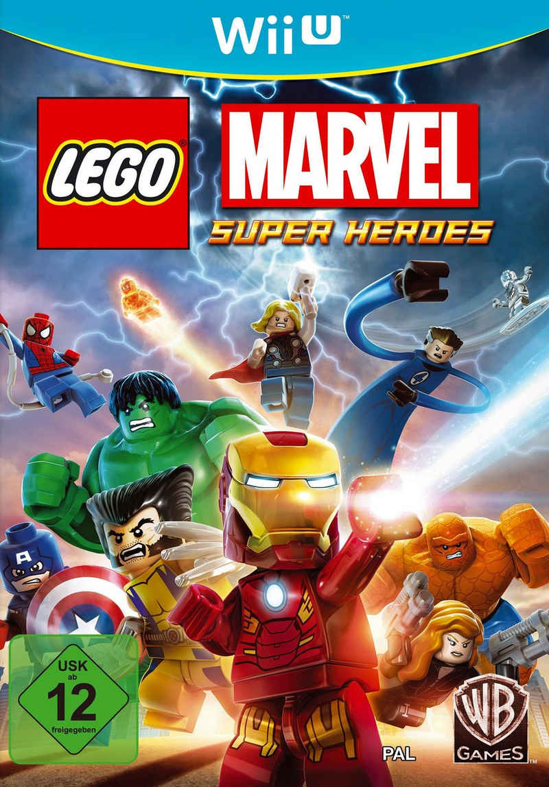 LEGO Marvel Super Heroes Nintendo Wii U, Software Pyramide