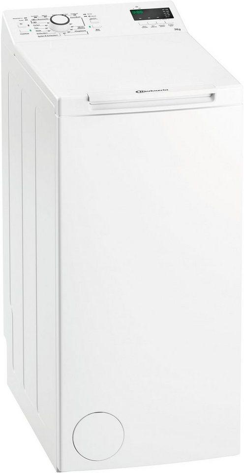 bauknecht waschmaschine toplader wmt ecostar 722 di 7 kg 1200 u min online kaufen otto. Black Bedroom Furniture Sets. Home Design Ideas