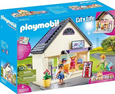 Playmobil® Spielbaustein-Ergänzungs-Set »Meine Trendboutique (70017), City Life«