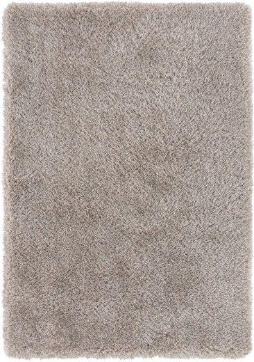 Hochflor-Teppich »Churchill«, LUXOR living, rechteckig, Höhe 58 mm, Besonders weich durch Microfaser