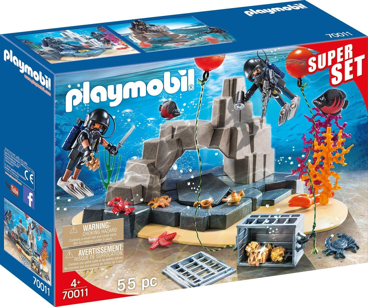 Playmobil® SuperSet SEK-Taucheinsatz (70011), »City Action«